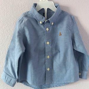 Vintage blue GAP/orange Sean John  cotton shirts